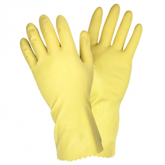 Chemical Resistant Latex Glove Yellow